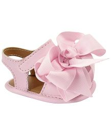 Baby Deer Crawling Stage Sandals - Pink