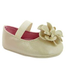 Baby Deer Crawling Stage Skimmer Shoes - Ivory