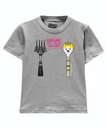 Spork Toddler Tee - Athletic Heather