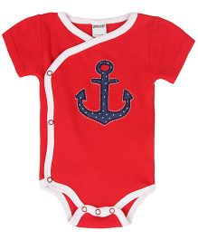 Judazy Anchors Away Bodysuit - Red