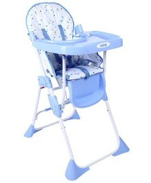 Luv Lap Comfy Baby High Chair Blue - 8083