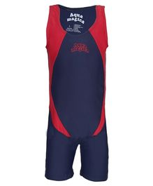 Imagica Sleeveless Legged Swimsuit - Navy