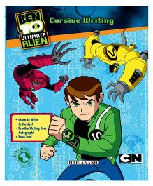BEN 10 Cursive Writing Book - English