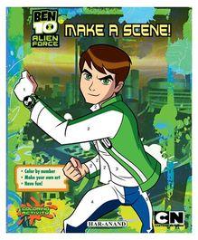 Ben 10 Make a Scene - English