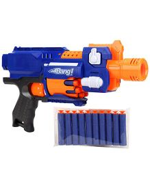 Mitashi Bang Seagull Toy Gun - Blue