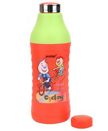 Pratap Hy Cool Insulated Water Bottle Red & Green - 750 ml