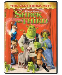 Shrek The Third DVD - English