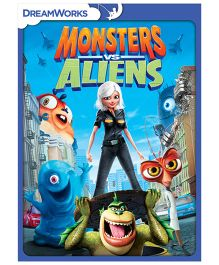 Monsters Vs Aliens DVD - English