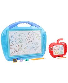 Mitashi Skykidz Color Doodle Dual Miracle Pack Of 2 - Sky Blue And Red