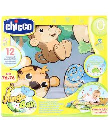 Chicco Musical Jungle Playmat - Multicolor