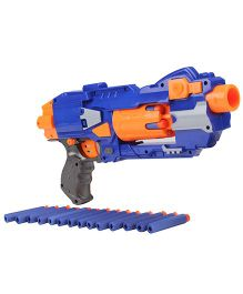 Mitashi Bang Hawk Toy Gun - Blue And Orange