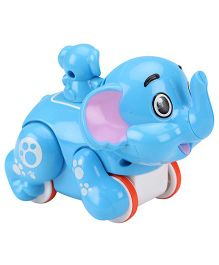 Smiles Creations Funny Animal  Elephant - Blue