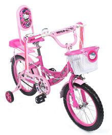 Hello Kitty 16 inch Bicycle - Pink And White