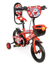 Doraemon 12 Inch Bicycle - Red And Black