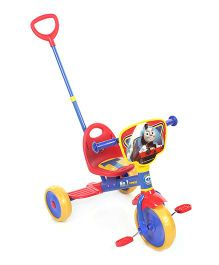 Thomas & Friends Tricycle With Push Handle Red And Blue - EI MAT0154