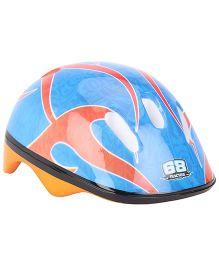 Hotwheels Printed Helmet - Blue And Orange