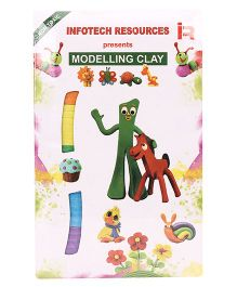 Infotech Resources Modelling Clay - Multicolour