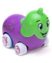 Smiles Creation Cartoon Truck Eggplant Shape - Purple