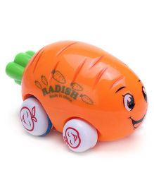 Smiles Creation Cartoon Truck Radish Shape - Orange