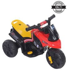 Babyhug Battery Operated ATV Ride-On - Red And Yellow