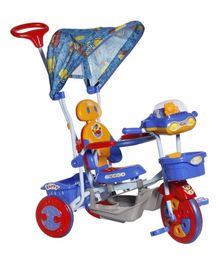 Mee Mee Lets Explore Tricycle with Canopy Blue - BT-860 A