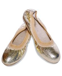 Sassy Golden Loafers