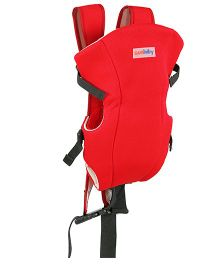 Sunbaby One In One Baby Carrier Red - SB-5008