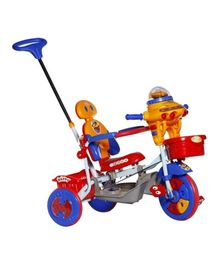 Mee Mee Baby Tricycle With Push Handle Red - 890