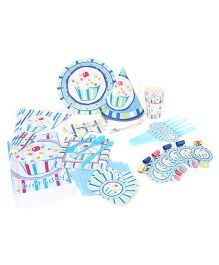 ShopAParty Cupcake Ultimate Pack Blue - 72 Pieces