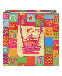 ShopAParty Happy Birthday Gift Bag Multicolour - 1 Piece