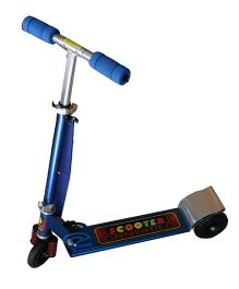 Adraxx Front Suspension Lightweight Scooter - Blue