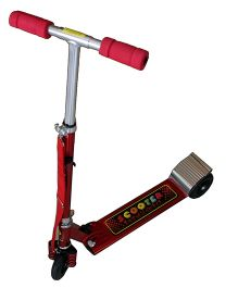 Adraxx Front Suspension Lightweight Scooter - Red