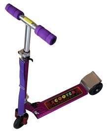 Adraxx Front Suspension Lightweight Scooter - Purple