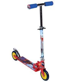 Marvel Spider Man Two Wheeler Scooter - Blue