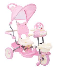 Mee Mee Bubbly Bunny Tricycle MM-231G (Color may vary)