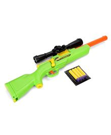 Buzz Bee Predator With Scope And 4 Foam Darts - Green