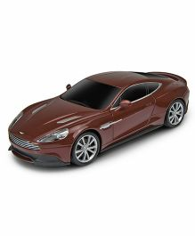 Welly Aston Martin Vanquish Remote Control Car - Brown