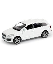 RMZ Die Cast Pull Back Audi Q7 V12 Car - White