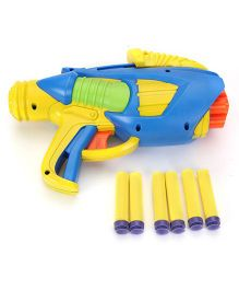 Buzz Bee Tek 6 X With 6 Foam Darts - Multicolor