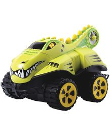 Dickie Remote Control Dino Basher Crocodile RTR - Green