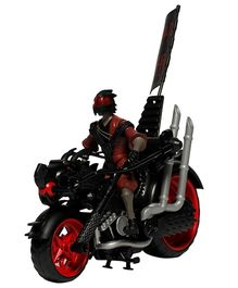 TMNT Dragon Chopper Bike - Black