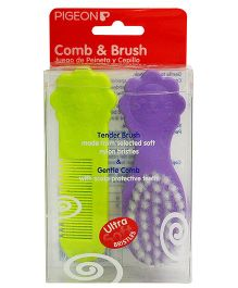 Pigeon Comb And Brush Set