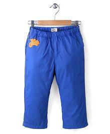 Sela Full Length Polyfill Pant Sportster Print - Blue