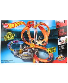 Hotwheels Spin Storm Track Set - Multicolor