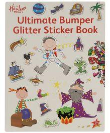 Hamleys Ultimate Glitter Stickers Book - A4