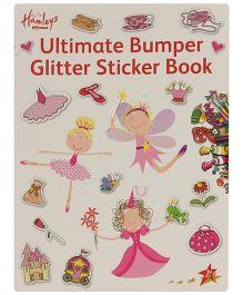 Hamleys Glitter Stickers Book - A4