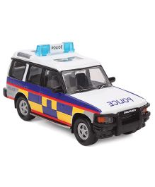 Hamleys Police Car Toy - White And Blue