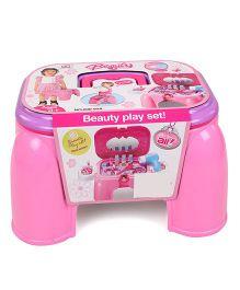 Hamleys Comdaq Beauty Stool Playset - Pink