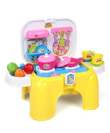 Hamleys Comdaq Kitchen Stoll Play Set - Yellow