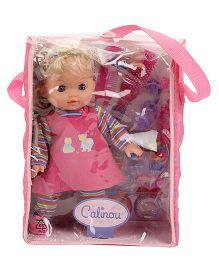 Hamleys Calinou Doll and Fashion Accessories Set - 28 cm